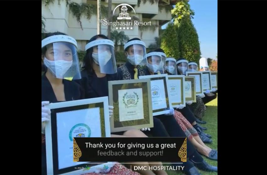 Penghargaan Trip Advisor untuk The Singhasari Resort