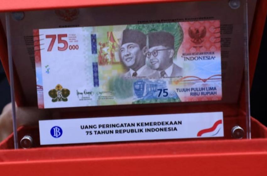 Uang Rp 75 Ribu hanya untuk Koleksi