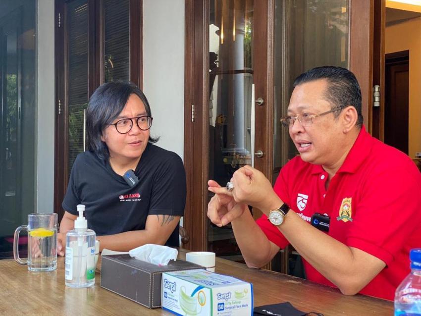 Ketua MPR Bamsoet Nge-Vlog bareng Ari Lasso