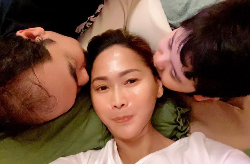 Inul Daratista bersama suami dan anak— instagram inuldaratista