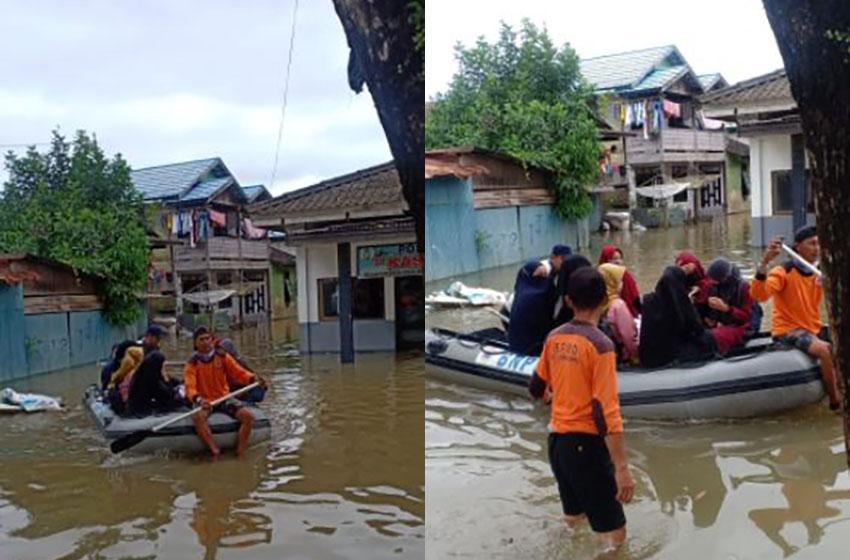 Banjir di Kalimantan Selatan— foto bnpb
