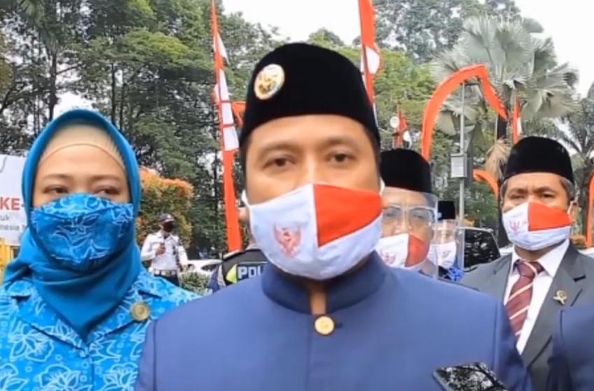 Pemkot Tangerang Bagikan 10.000 Masker