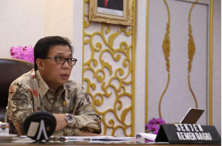 ujar Sekretaris Jenderal Kementerian Dalam Negeri Muhammad Hudori —foto Puspen Kemendagri