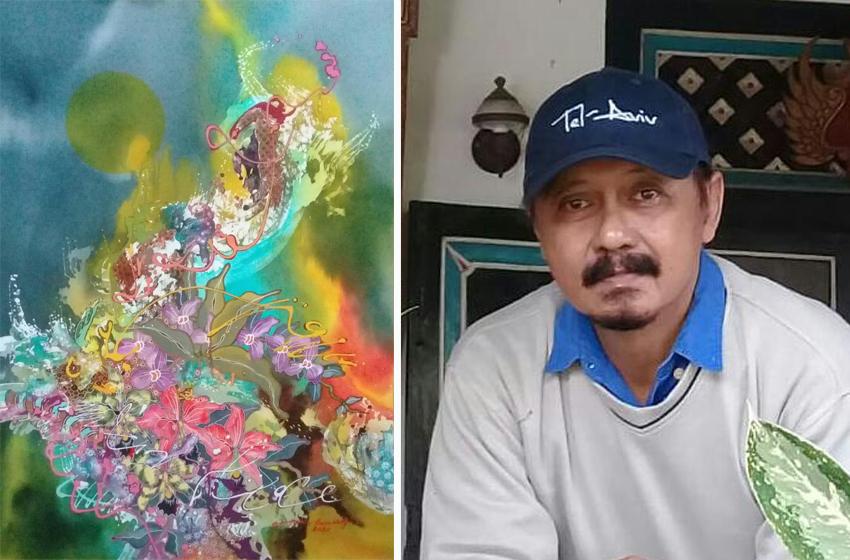 Pameran Seni Lukis Batik Totok Kuswaji di Ons TV