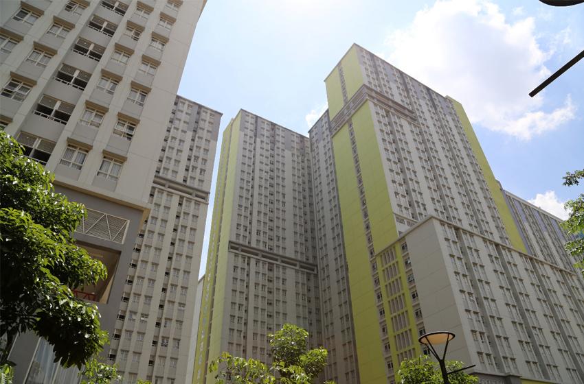 Tower 4 RS Darurat Wisma Atlet Kemayoran, siap digunakan. (foto: BNPB)