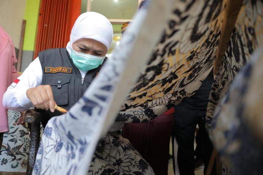 Motif Batik Jatim Kaya Akan Nuansa Alam