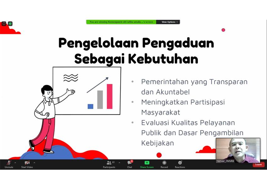 Sumsel Diminta Tingkatkan Publikasi SP4N-LAPOR!