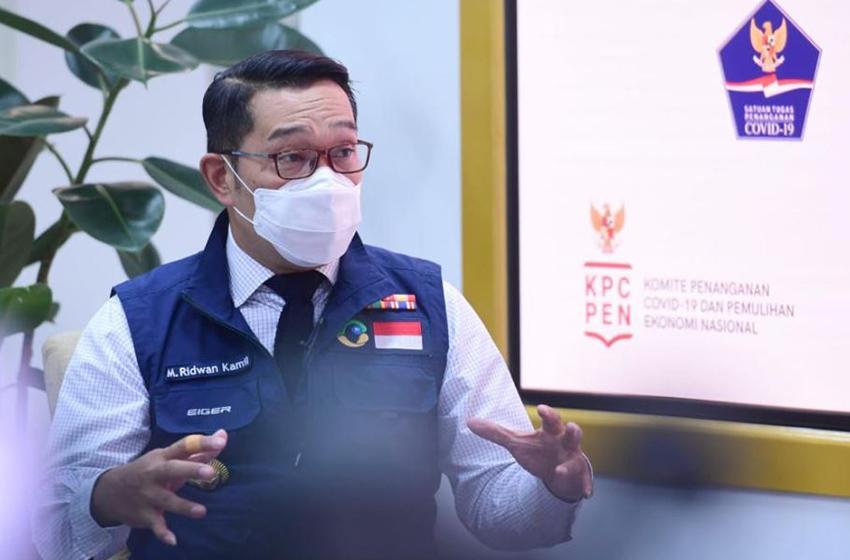 Ridwan Kamil:  Covid-19 tak bisa Dikendalikan hanya dengan Telepon atau Video Conference Saja