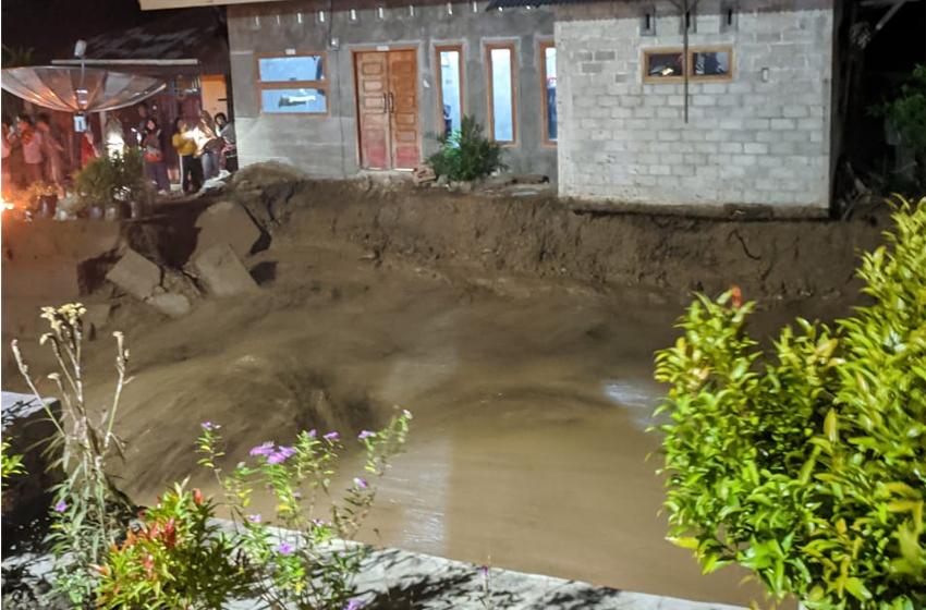 Banjir Bandang Landa Sungai Pagu, tak Ada Korban Jiwa