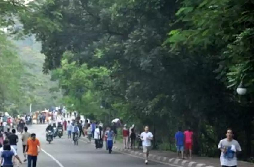Sosialisasi Masker di CFD Bogor