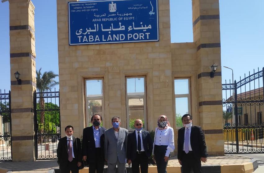 Tim KBRI Cairo, Mesir saat berkunjung ke Kota Taba, Sinai Selatan. (foto: KBRI Cairo)