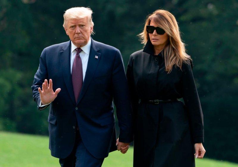 Giliran Presiden Trump dan Melania Positif Covid-19