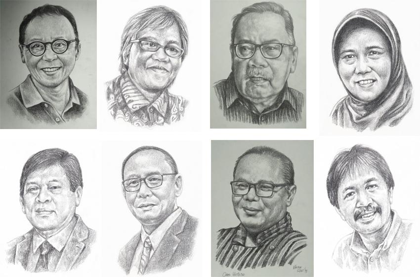 Pameran Drawing Si Us 'Wajah-Wajah Para Sahabat'