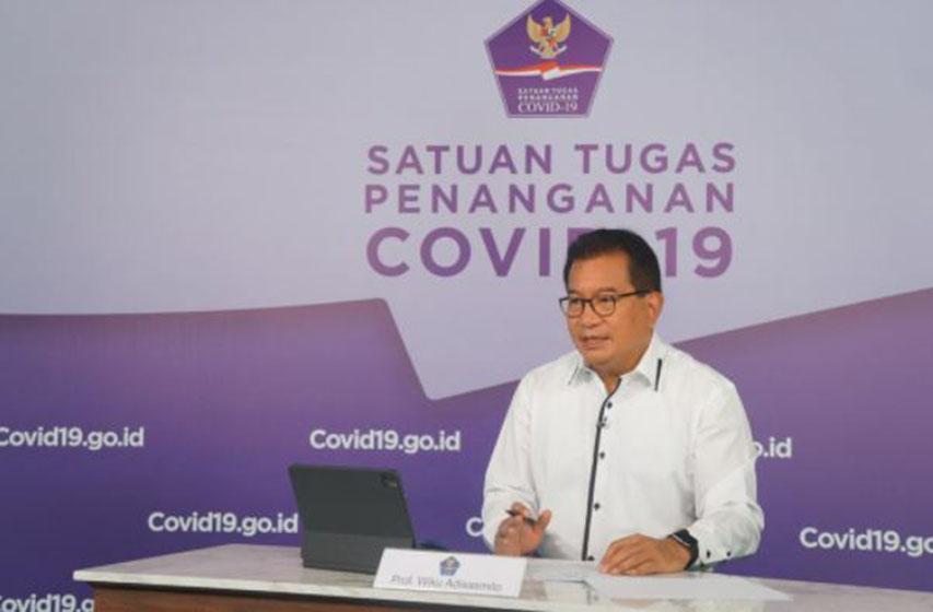 Prof Wiku Adisasmito — foto Tim KKP Covid 19 dan PEN