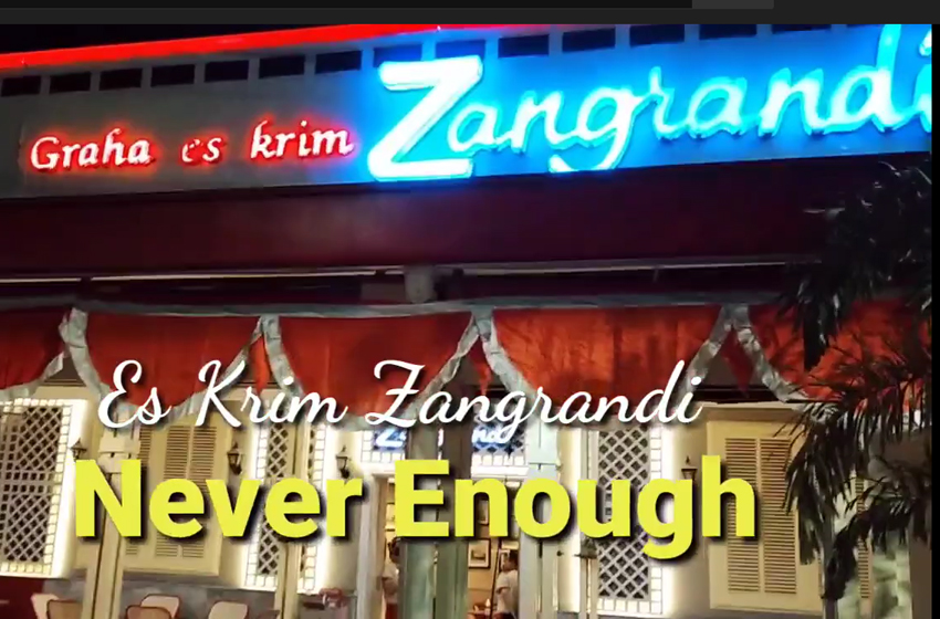 "Es Krim Zangrandi, ""To Much is Never Enough"""