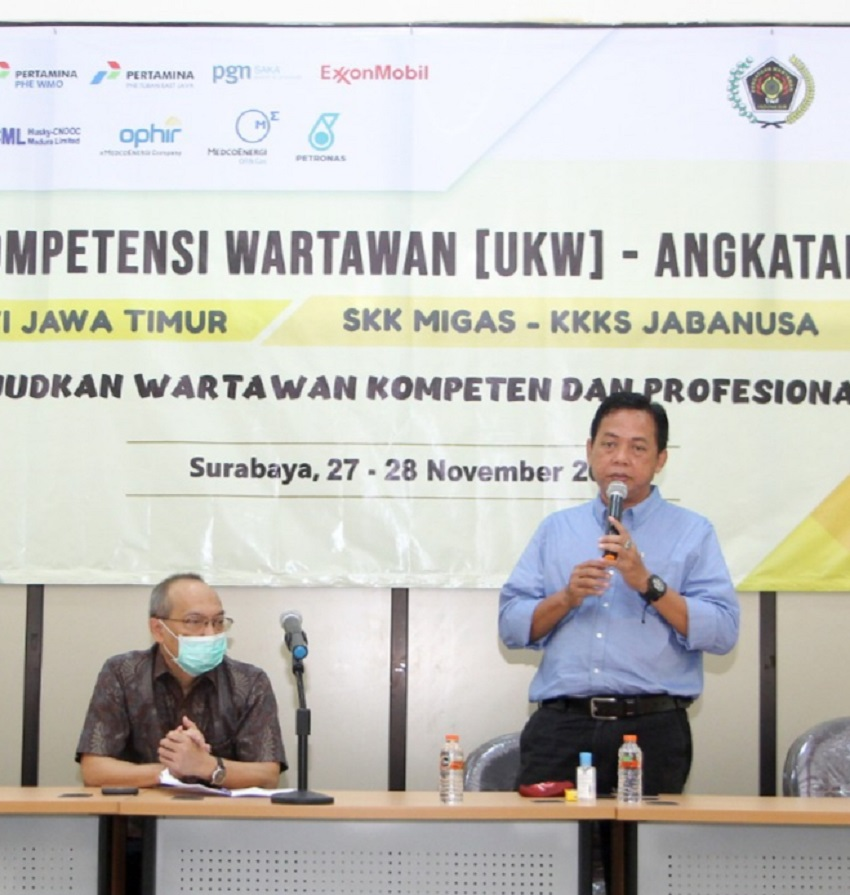 SKK Migas Dukung PWI Jatim Tingkatkan Profesionalisme Wartawan