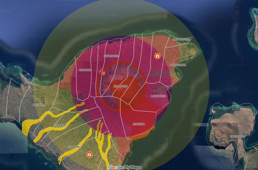 Lebih 4.000 Warga Evakuasi Pascaerupsi Gunung Ili Lewotolok