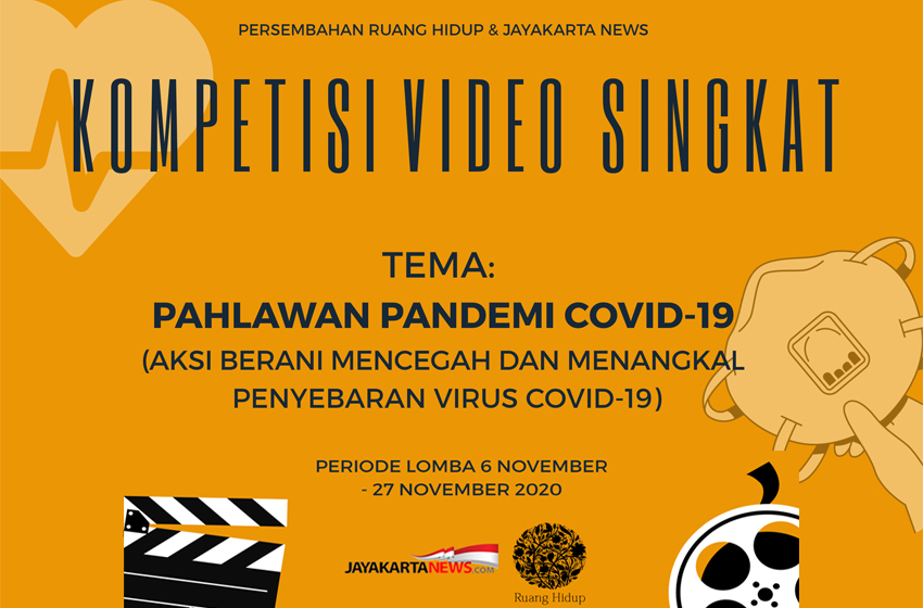 "Kompetisi Video Singkat ""Pahlawan Pandemi Covid-19"""