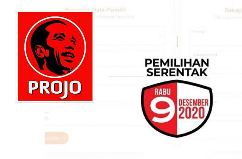 Projo Mantap Dukung 25 Paslon dalam Pilkada 2020