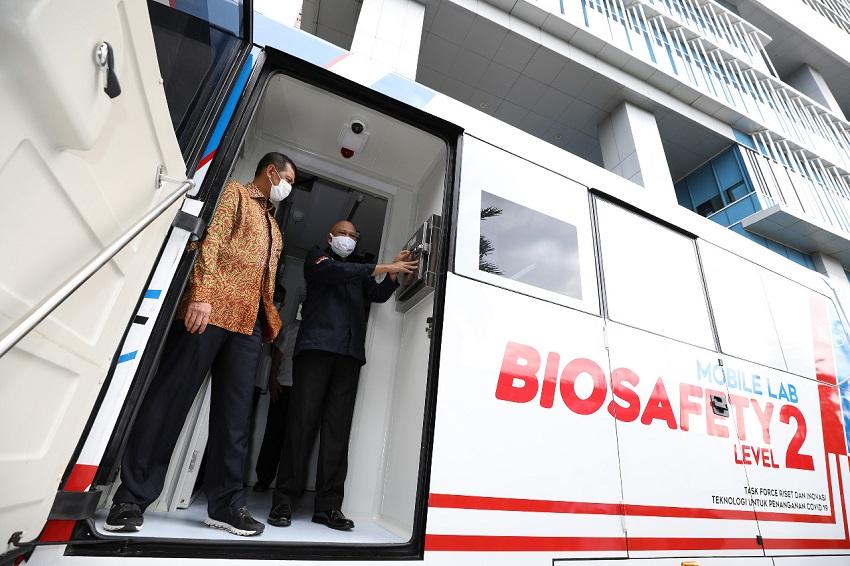 Percepat 3T di Daerah, Mobile Lab BSL-2 Varian Bus Diluncurkan