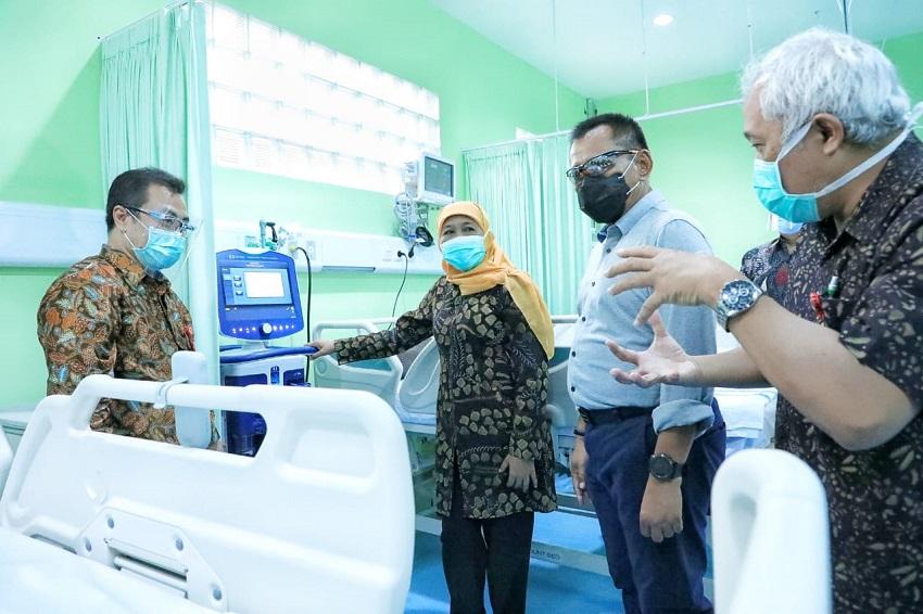 Pertama di Indonesia, IGD Penyakit Menular RSUD Dr. Soetomo Diresmikan