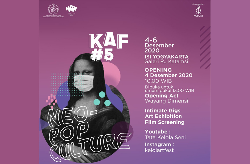 Kelola Art Fest #5 Neo-Pop Culture