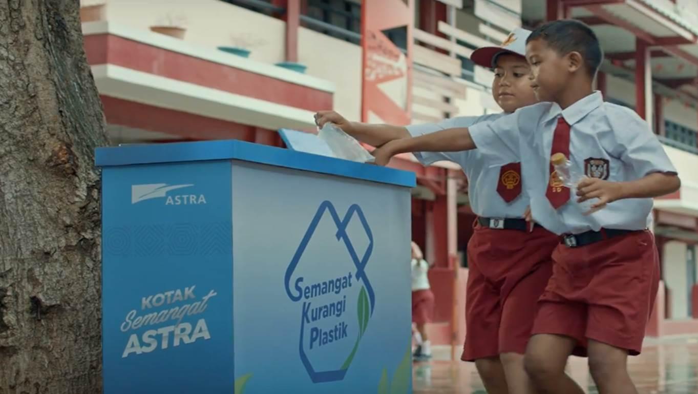 Astra Bersama Masyarakat Kurangi 418 Ton Sampah Plastik Jakarta