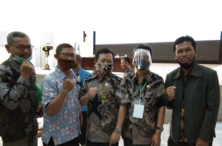 Pepi JP Ketua Dekopinda Kab Bogor