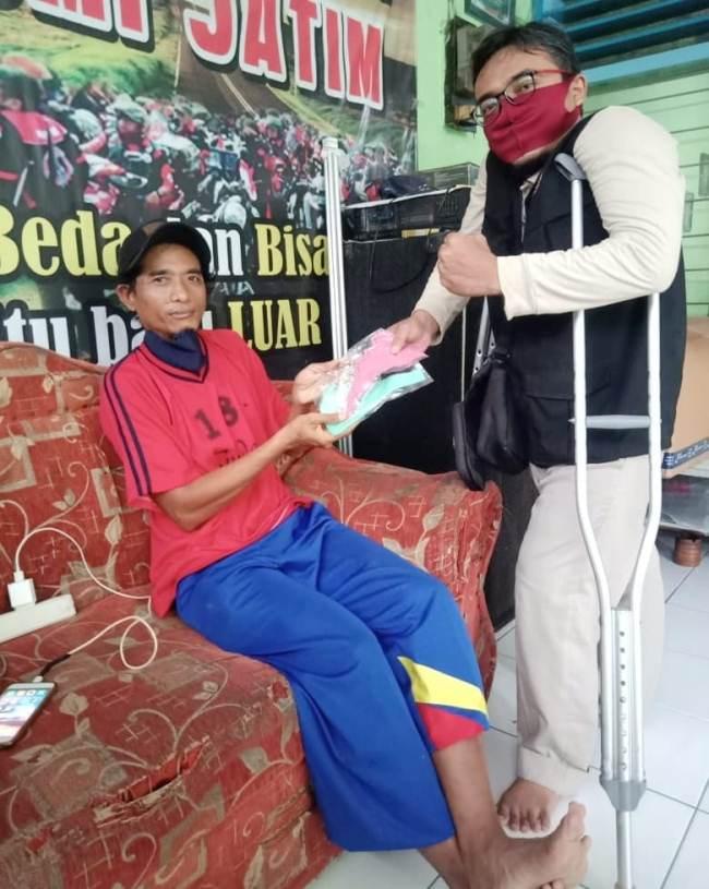 BPBD Jatim Ajak Komunitas Disabilitas Sosialisasikan Pencegahan Covid-19