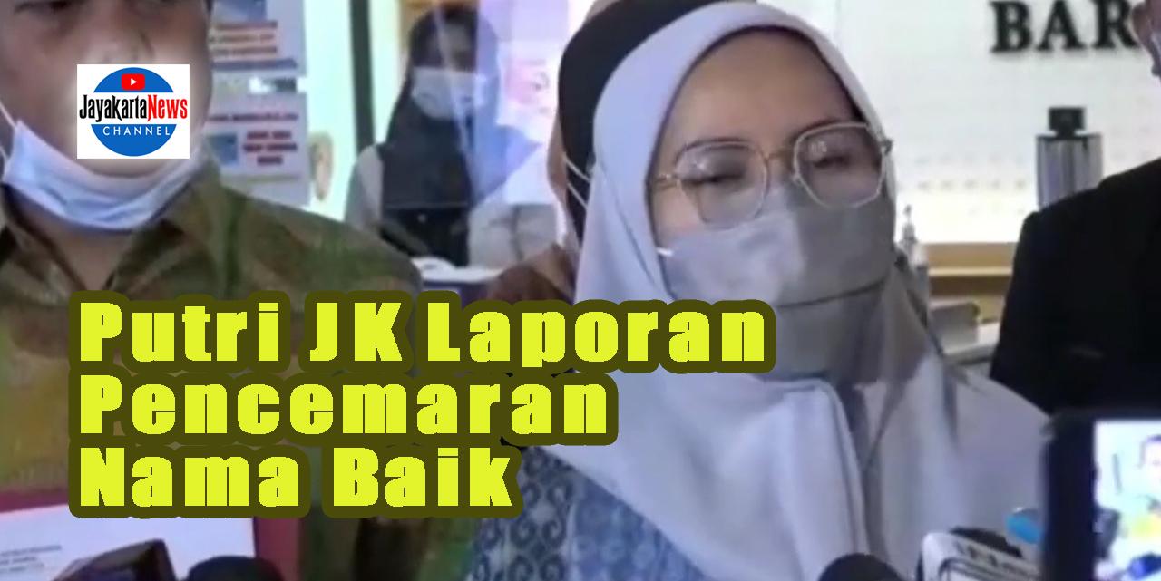 Putri Jusuf Kalla Laporan Pencemaran Nama Baik Terkait HRS