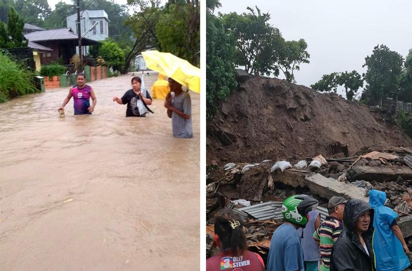 Banjir Longsor di Manado, 5 Orang Meninggal Dunia