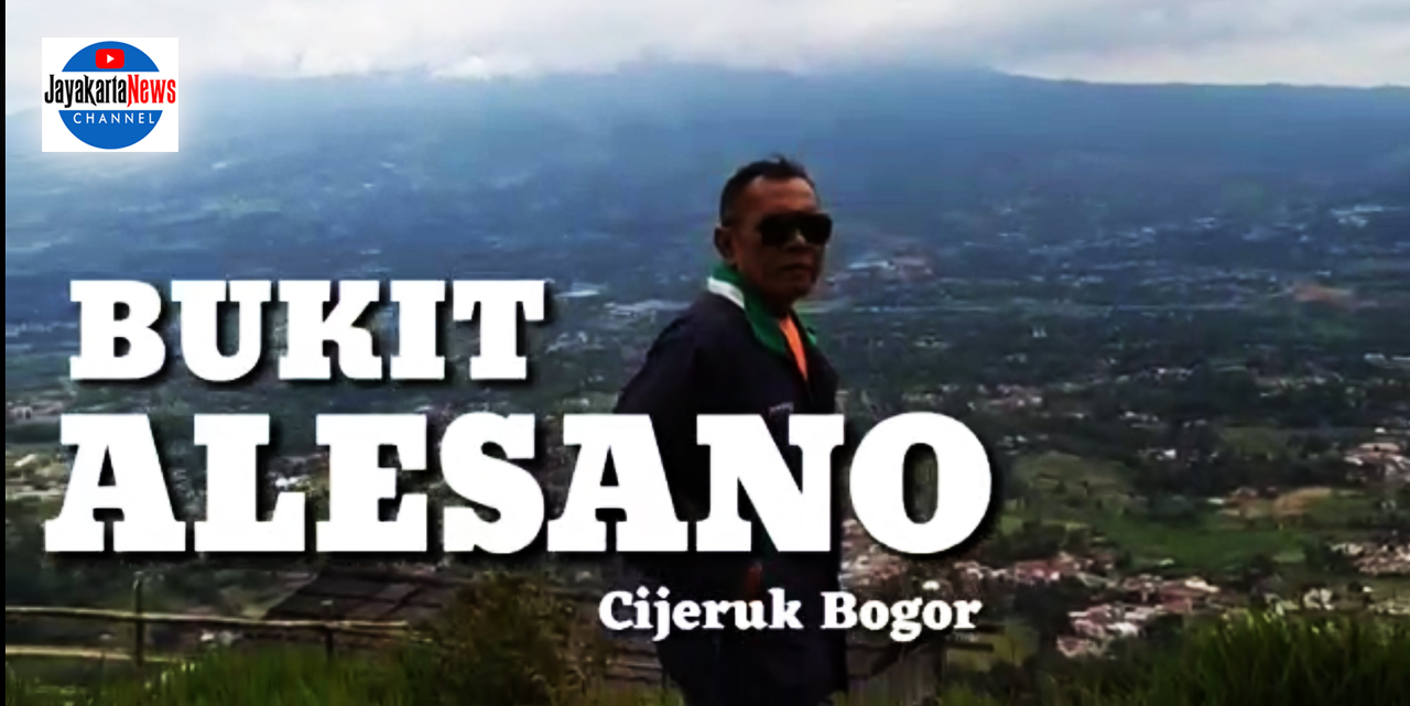 Nikmati Bogor dari Bukit Alesano
