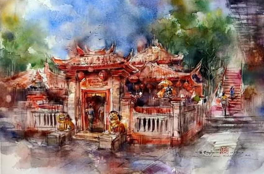 Pelukis-pelukis Besar Pamer Karya di Banjaratma