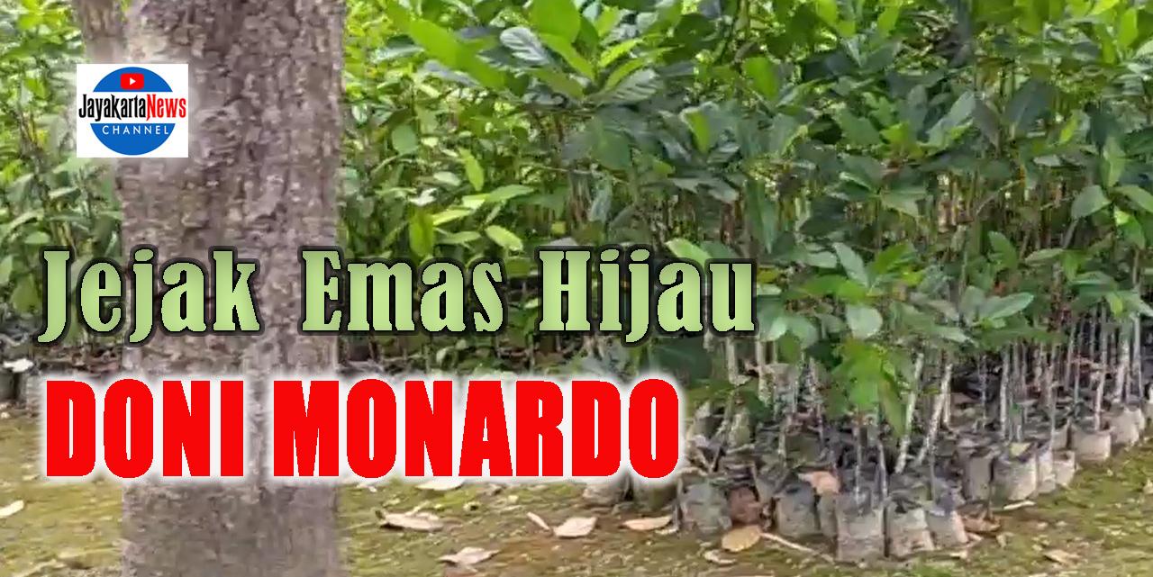 Jejak Emas Hijau Doni Monardo