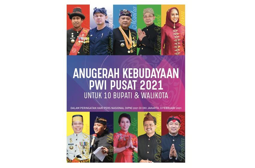 Strategi 10 Bupati-Walikota Penerima Anugerah Kebudayaan PWI