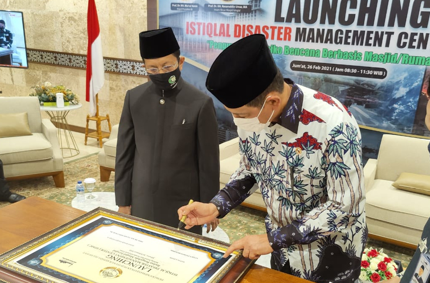 Kisah Pohon Melindungi Nabi, di Acara Istiqlal Disaster Management Center