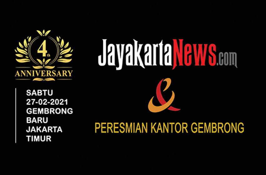 Ultah ke-4 dan Peresmian Kantor Jayakarta News