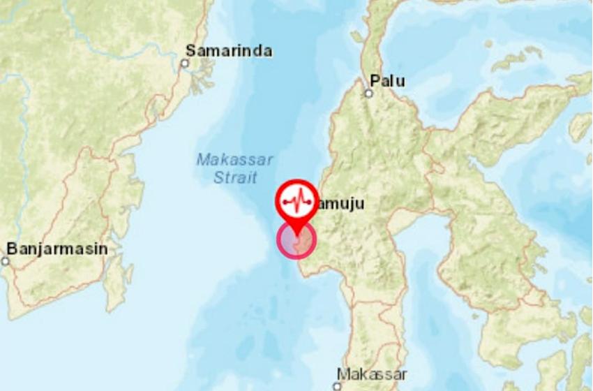 Majene Kembali Diguncang Gempa M5,2