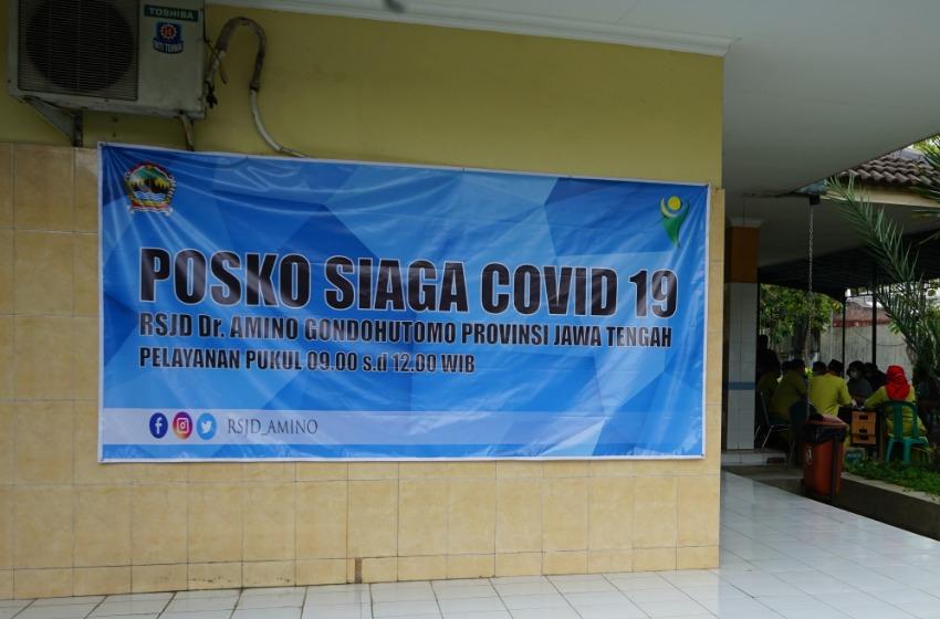 Satgas Sampaikan Progres Posko Covid-19