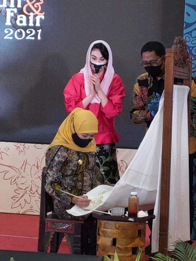 Batik Bordir Fair Bantu Bangkitkan Ekonomi Jatim