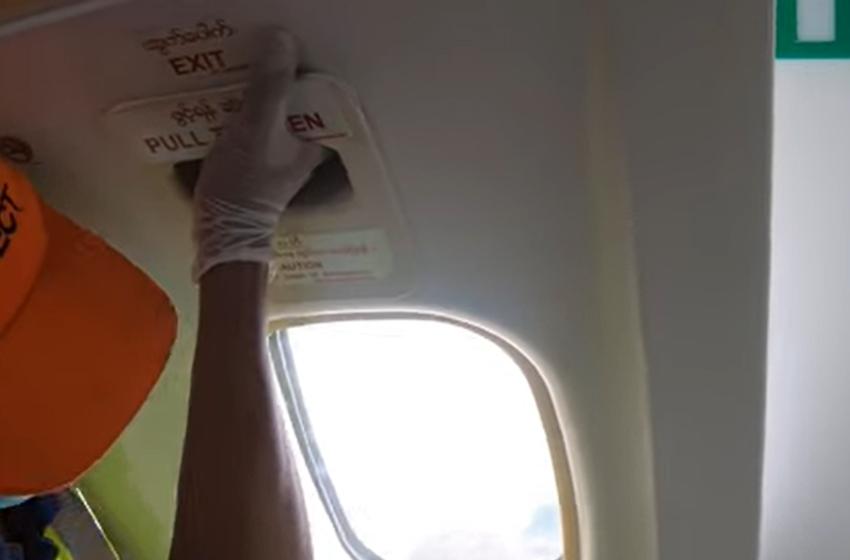 Penumpang Wings Air Mendadak Buka Jendela Darurat