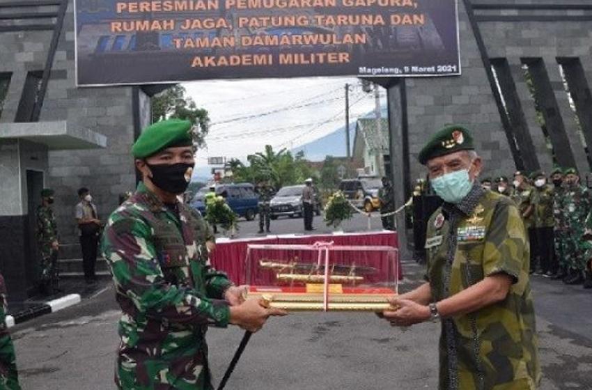 Mayjen TNI Totok Imam Santoso Segarkan Akmil Magelang