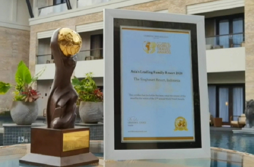The Singhasari Resort Dianugerahi WTA 2020