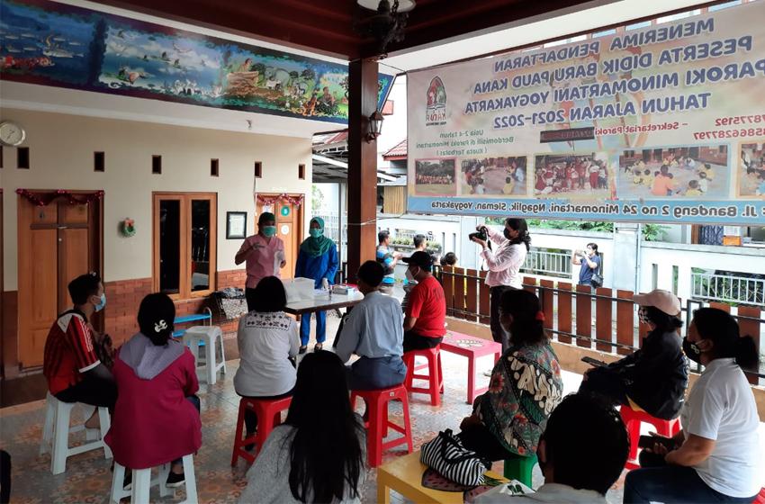 Aksi Sosial Paskah Paroki Minomartani di Tengah Pandemi