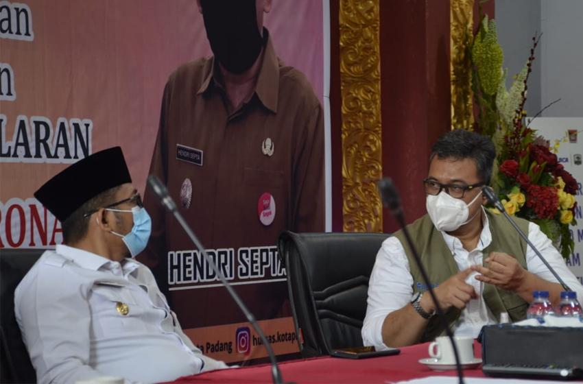 BNPB Ajak Pemerintah Kota Padang Perkuat Mitigasi Bencana