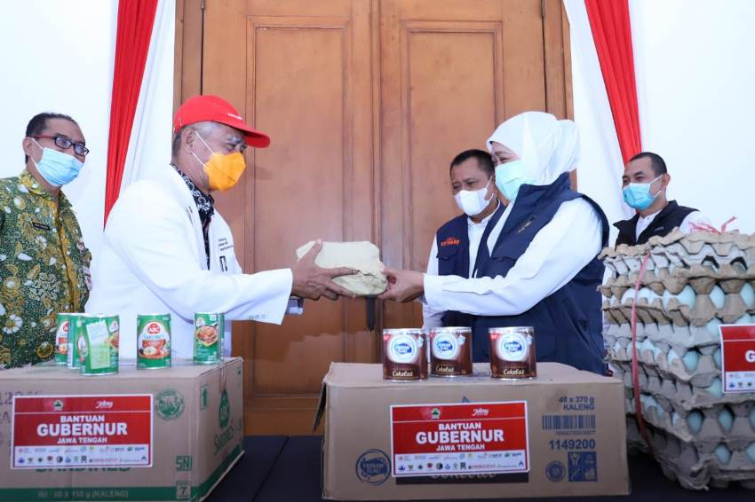 Bantuan Pemprov Jateng untuk Korban Terdampak Gempa Jatim
