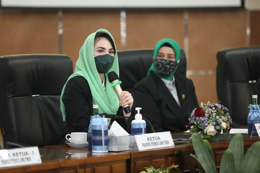 Perwosi Jatim Berencana Realisasikan Senam Kreasi Usai Ramadhan