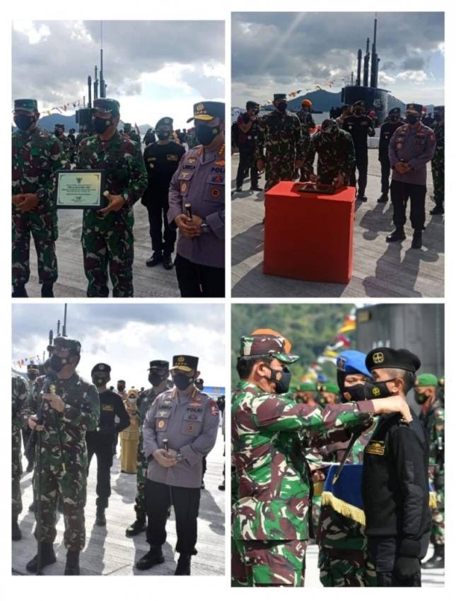 KRI Alugoro-405 Resmi Masuk Jajaran Satuan Kapal Selam Koarmada II