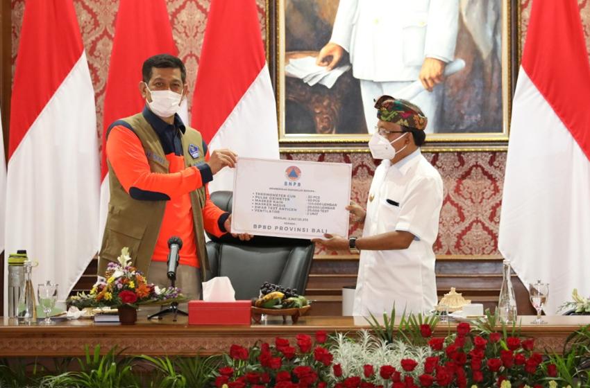 Doni Monardo Dorong Bali Bentuk Satgas Karantina Cegah Penularan Covid-19 dari Luar Negeri