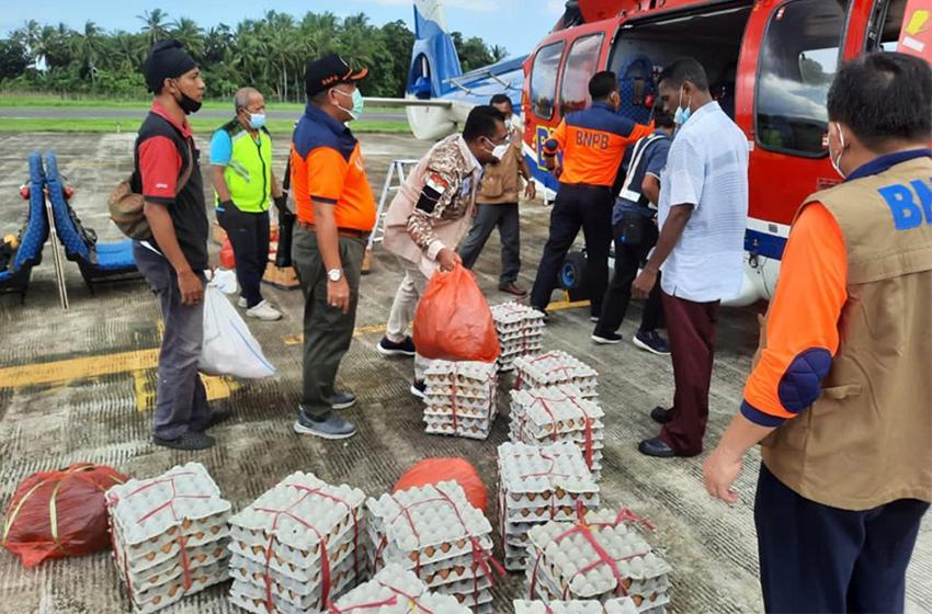 Bantuan Logistik Terus Mengalir ke NTT